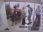Câmera de segurança registra assalto em agência bancária de Itapuí