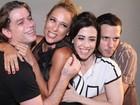 Elenco de 'Tapas & Beijos' se reúne para entrevista no Projac