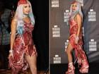 Vestido de carne de Lady Gaga será exposto em museu nos EUA