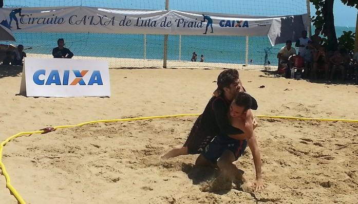 Open Ceará de Luta de Praia (Foto: Tom Alexandrino)