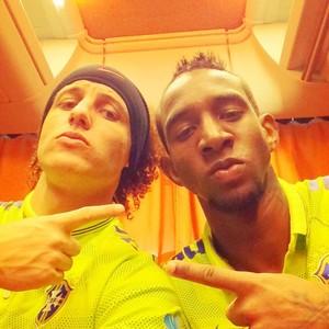 David Luiz e Talisca (Foto: Reprodução/ instagram)