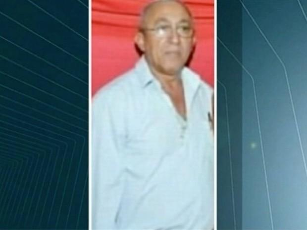 Idoso morreu após receber descarga elétrica (Foto: Reprodução/TV Anhanguera)
