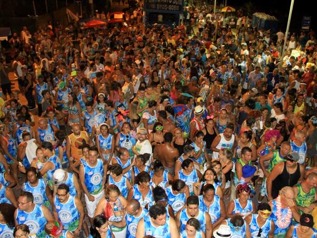 Foliões se divertem em Itanhaém (Foto: Katia Doenz/Prefeitura de Itanhaém )