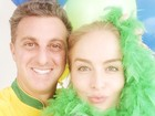 Famosos mostram sua torcida no segundo jogo do Brasil na Copa do Mundo