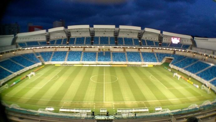 Arena das Dunas Santos-AP x Vasco (Foto: Fabiano de Oliveira/GloboEsporte.com)