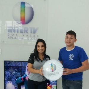 Raíssa e Samuel acreditam que a visitam foi importante para a escolha da profissão (Foto: Ana Paula Vasconcelos/Inter TV dos Vales)