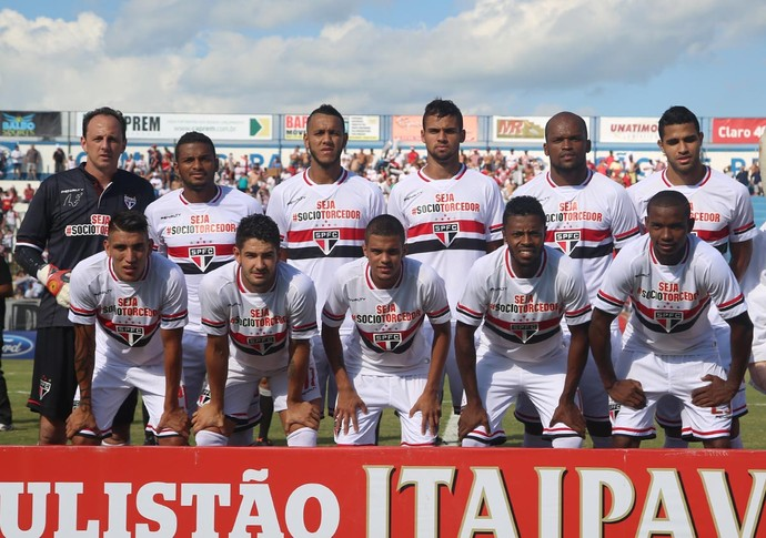 São Paulo posado (Foto: Rubens Chiri /  site oficial SPFC)