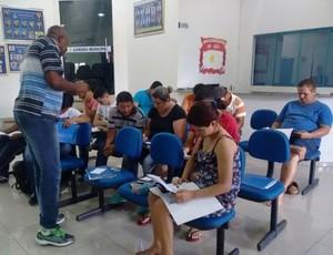 Curso de arbitagem téorico em Rondônia (Foto: Murilo/Rotacomando)