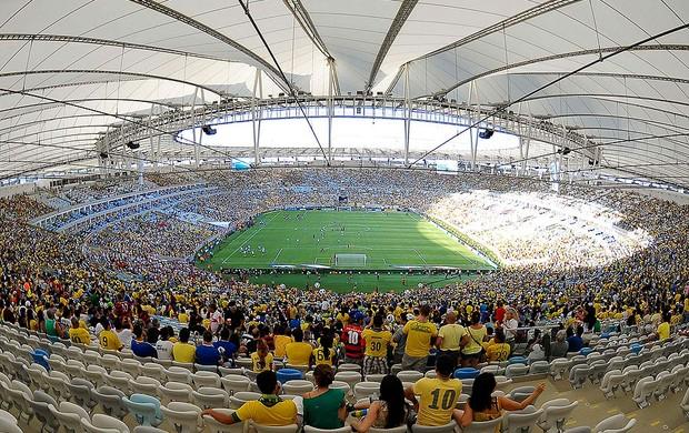 estádio maracanã brasil e inglaterra (Foto: Alexandre Durão / Globoesporte.com)