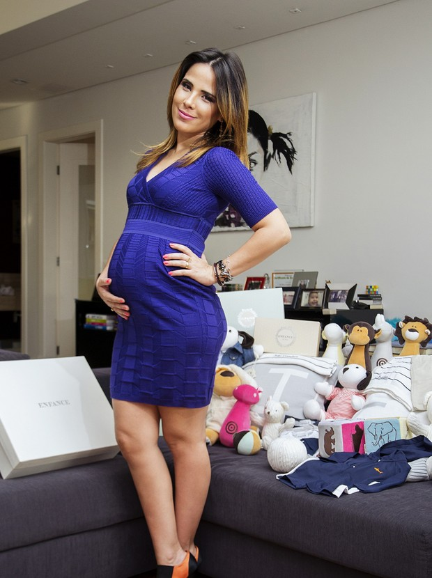 """Wanessa fala com exclusividade sobre segunda gravidez: """"Estou mais enlouquecida do que na primeira"""""""