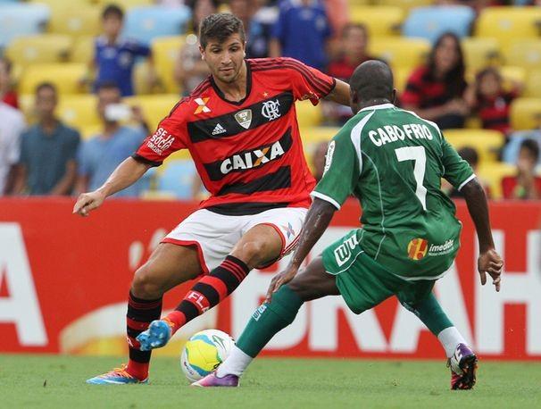 Flamengo e Cabofriense (Foto: Divulgação/reprodução)