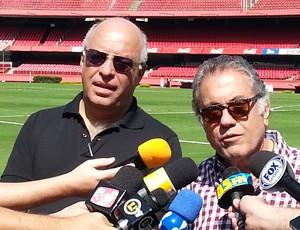 Carlos Miguel Aidar e Ataíde Gil Guerreiro (Foto: Carlos Augusto Ferrari)