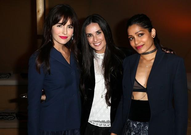 Camilla Belle, Demi Moore e Freida Pinto (Foto: Getty Images)