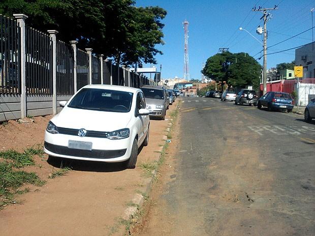 Projeto da igreja prevê transferir a entrada do local para uma rua vizinha (Foto: Carlos Roberto da Silva / VC no G1)