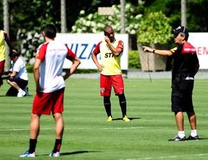 ney franco ademilson são paulo treino (Foto: Marcos Ribolli / Globoesporte.com)