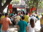 População faz ato em Juiz de Fora em apoio à 'Lava Jato'