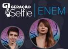 Veja o Geração Selfie sobre o Enem (Editoria de arte/G1)