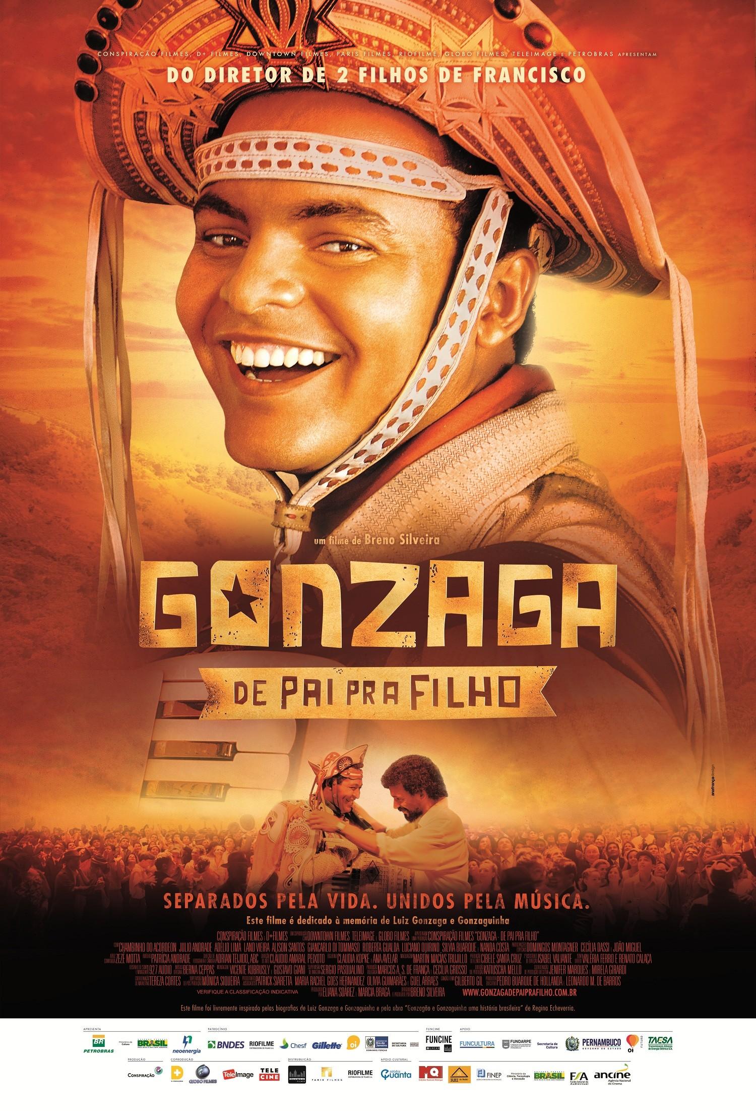 Cartaz do filme 'Gonzaga, de pai pra filho' (Foto: divulgação)