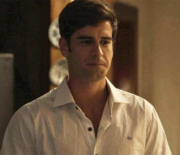 Felipe faz convite à Shirlei (Foto: TV Globo)