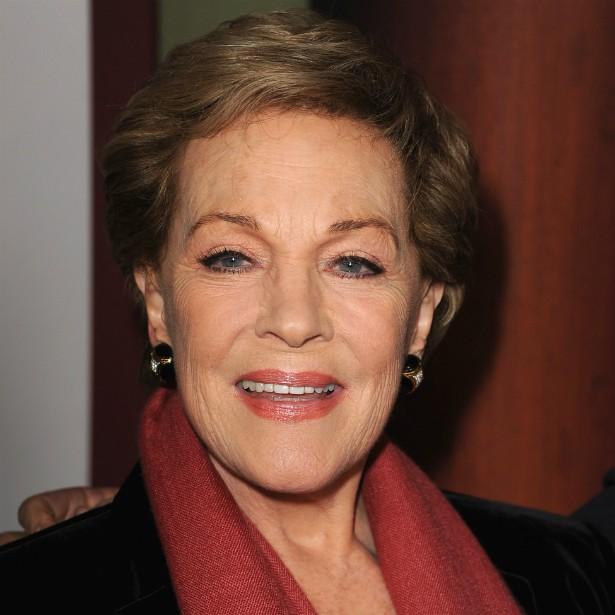 A premiada atriz britânica Julie Andrews foi casada com o cineasta Blake Edwards de 1969 até a morte dele, em 2010. Ela já tinha uma filha do casamento anterior, e ele, duas crianças. O casal ainda adotou outros dois pequenos vietnamitas. (Foto: Getty Images)