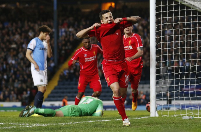 Philippe Coutinho Liverpool Blackburn (Foto: Reuters)