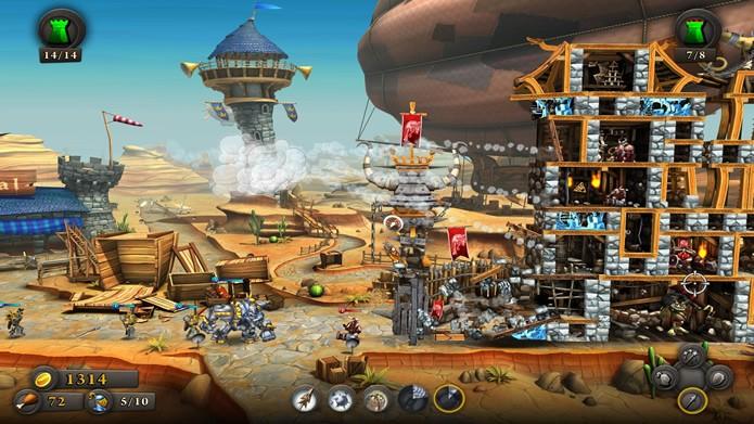 Misturando estilos, CastleStorm oferece uma jogabilidade instigante e divertida (Foto: Divulgação)