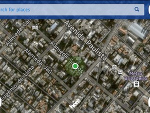 'Here' é aplicativo de mapas da Nokia (Foto: Reprodução)