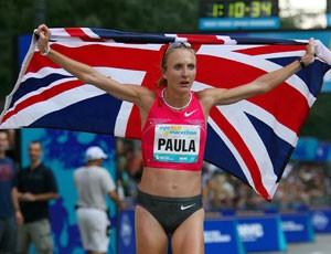 Corrida de rua Paula Jane Radcliffe (inglesa) (Foto: Getty Images)