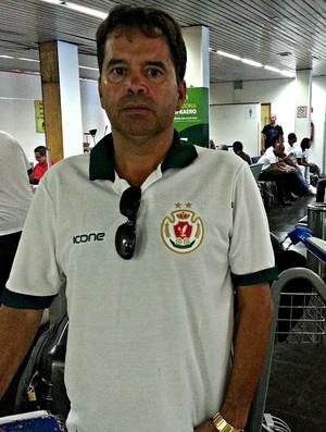 Binha, gerente de futebol do Real Noroeste (Foto: Richard Pinheiro/GloboEsporte.com)