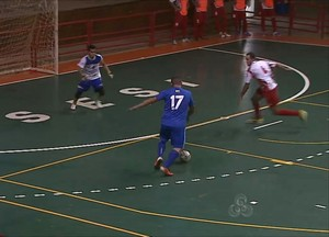 verona x villa acreano de futsal ginásio do sesi (Foto: Reprodução/TV Acre)