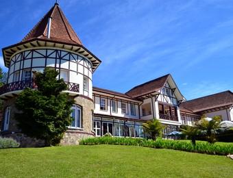 Hotel Vila Inglesa - Campos do Jordão (Foto: Danilo Sardinha/GloboEsporte.com)