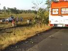 Motorista dorme e carro capota deixando um morto e 4 feridos, diz PM