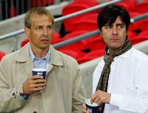 Jürgen Klinsmann e Joachim Löw Alemanha em 2007 (Foto: Getty Images )