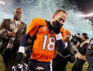 peyton manning Denver Broncos x Seattle Seahawks super bowl (Foto: Getty Images)