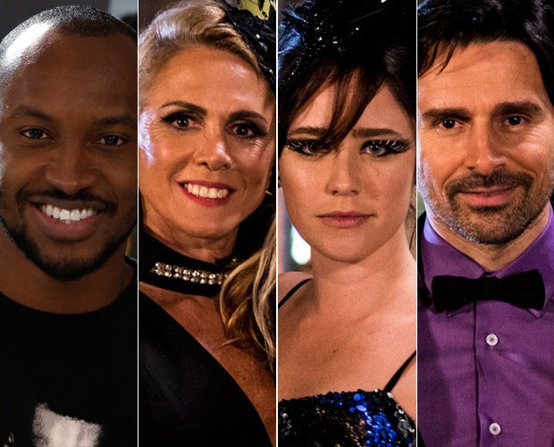 Elenco de estrelas vai fazer mágicas no palco do Domingão (Foto: Ellen Soares/ TV Globo/ Fábio Rocha/ Gshow)