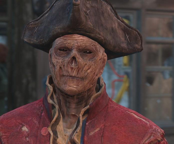 Hancock: companion de Fallout 4 (Foto: Reprodução/Fallout 4 Base)