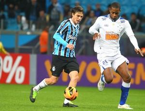 Maxi Rodriguez e Dedé, Grêmio x Cruzeiro (Foto: Lucas Uebel/Grêmio FBPA)