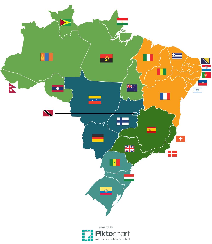 Sabia que o Reino Unido cabe dentro de São Paulo?
