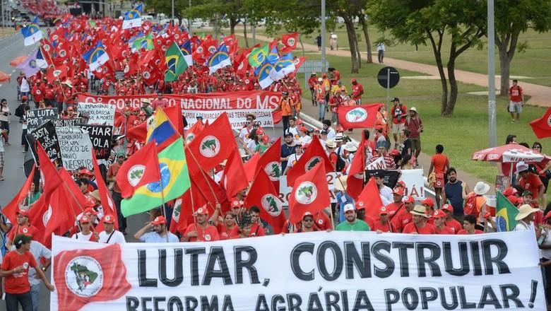notícias_mAnifestação_mst (Foto: Agência Brasil)