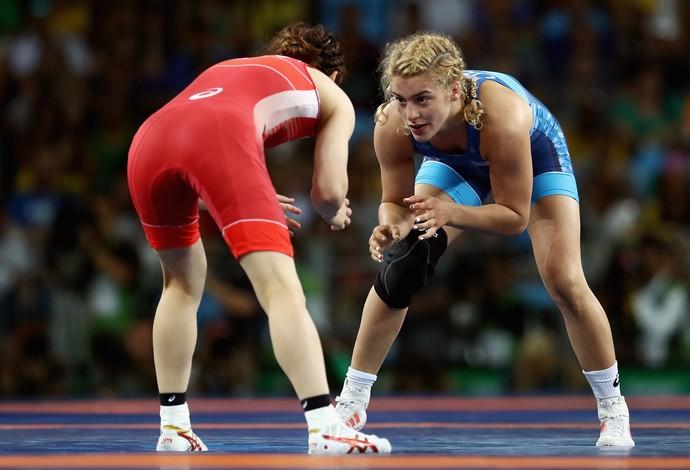 Helen Maroulis vence Saori Yoshida final luta olímpica (Foto: Getty Images)