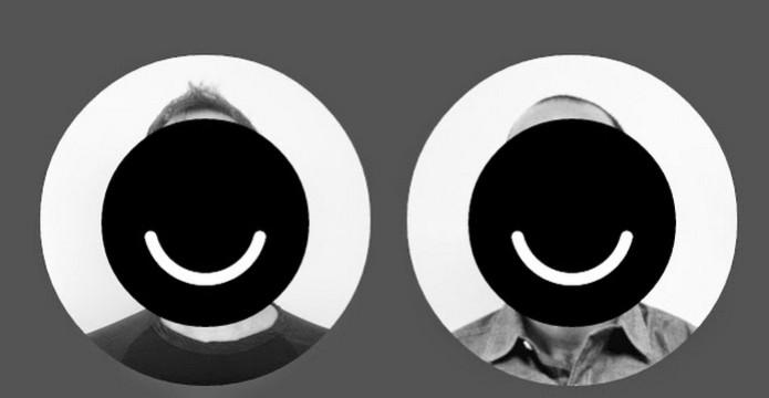 Foto dos desenvolvedores do Ello com logo da rede social (Foto: Divulgação) (Foto: Foto dos desenvolvedores do Ello com logo da rede social (Foto: Divulgação))