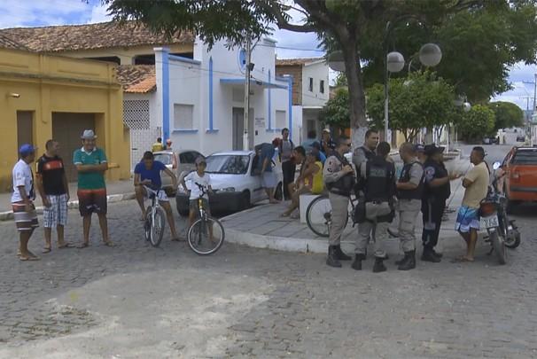 Assalto em Juarez Távora (Foto: Divulgação)