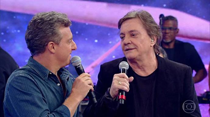 Fábio Jr promete último casamento (Foto: TV Globo)
