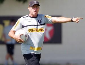 Oswaldo de oliveira botafogo treino (Foto: Ivo Gonzalez / Agência O Globo)