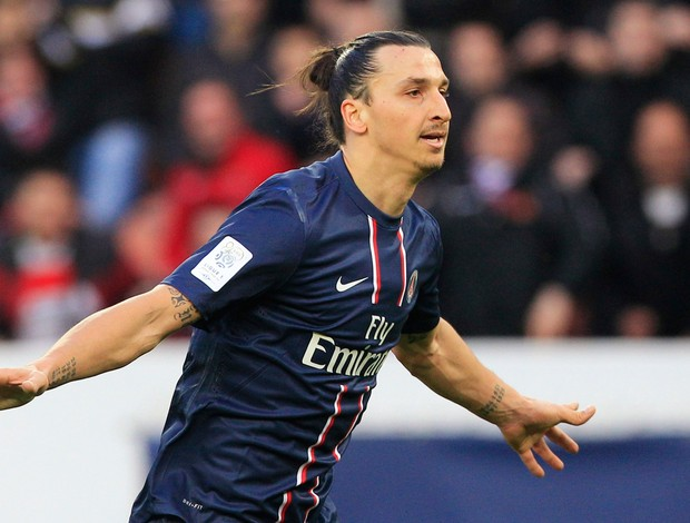 ibrahimovic nancy x paris saint germain (Foto: Reuters)