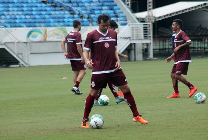 América-RN - Luiz Eduardo, atacante (Foto: Canindé Pereira/América FC)
