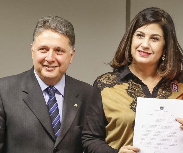 Anthony e Rosinha Garotinho (Foto: Roberto Stuckert Filho/ PR)