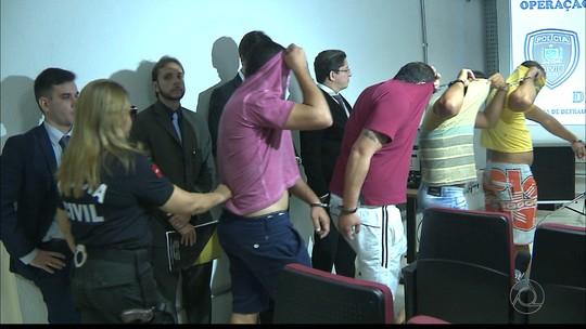 Líderes de grupo preso na 'Gabarito' já respondiam por fraudes em concursos, diz delegado na PB