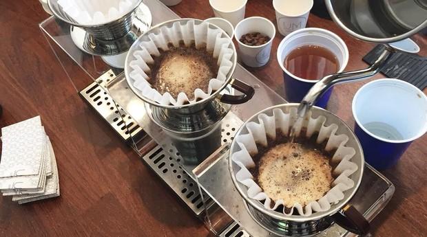 Coadores de café da Um Coffee Co. (Foto: Divulgação)