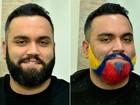 Missão EGO: repórter testa a nova onda de barbas coloridas; confira passo a passo da transformação